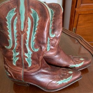 GORGEOUS Charlie 1 Horse Lucchese cowboy boots